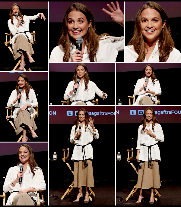 PROMOTION DE 'THE DANISH GIRL' A NEW YORK.