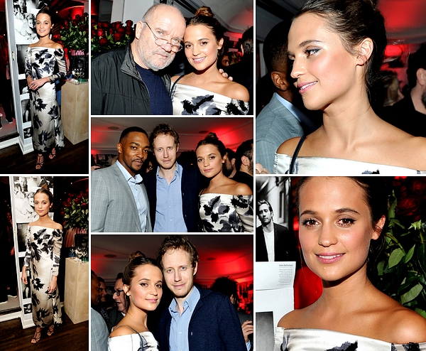 W MAG GOLDEN GLOBES PARTY + BAFTAS NOMINATIONS