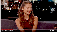 JIMMY KIMMEL SHOW + SAG AFTRA FOUNDATION INTERVIEW.