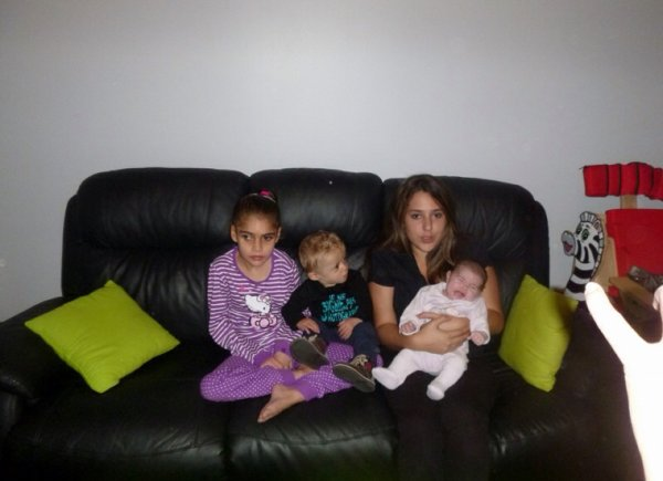 Avec les cousins