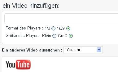 BLOG: Widescreen Videos auf deinem Blog!