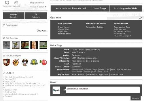 PROFIL: Neues Design für eure Profile!!!