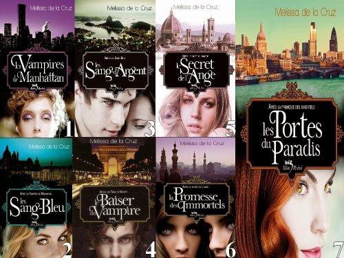 """La saga """"Les Vampires de Manhattan"""" de Mélissa de la Cruz ♥"""