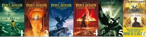 Saga Percy Jackson de Rick Riordan ♥