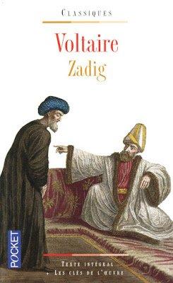 Zadig et autres contes orientaux de Voltaire