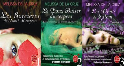 Trilogie Les sorcières de North Hampton de Melissa de la Cruz