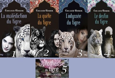 Saga La malédiction du Tigre de Colleen Houck ♥