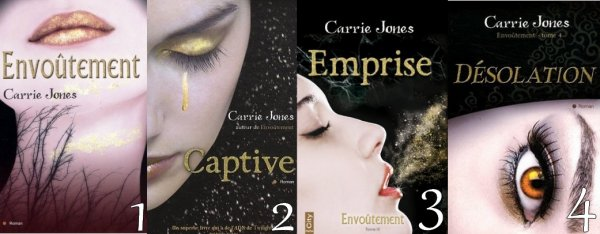 Envoûtement de Carrie Jones