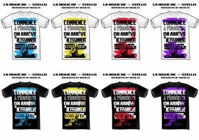 """LES T-SHIRTS """"COMMENCE A TKT"""" ENFIN DISPO!!! 20e LE T-SHIRT!!! 3 T-SHIRTS ACHETER UN CD """"COMMENCE A TKT"""" OFFERT!!! DEUX TYPES DE T-SHIRTS DIFFÉRENTS """"ON ARRIVE INCESSAMMENT SOUS BEU"""" ET """"ON ARRIVE INCESSAMMENT SOUS FEU"""" VIENS T'HABILLER A LA MODE DE CHEZ NOUS!!! PLEIN DE COULEUR DISPONIBLE VIENS FAIRE TON MARCHE ICI MEC!!!!"""
