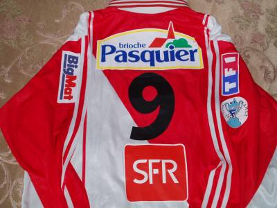 Maillot AS Monaco Rothen Coupe De France 2004