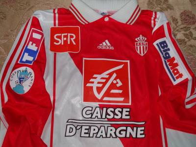 Maillot AS Monaco Rothen Coupe De France 2004