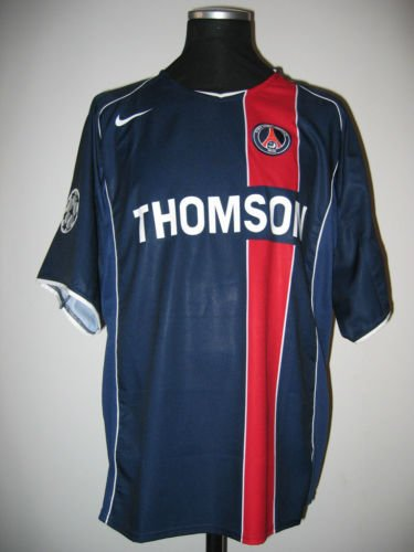 Maillot PSG de Mario Yepes en Ligue des Champions 2004 / 2005