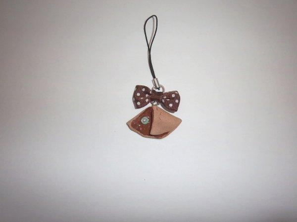 Strap crêpe chocolat-kiwi