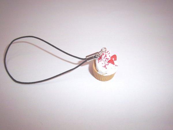 Strap cupcake fraise