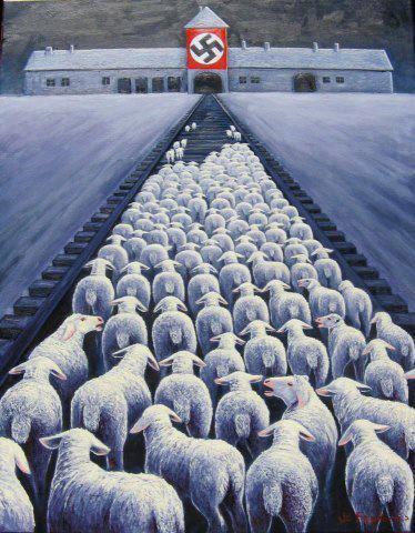 """""""Dans leur comportement avec les animaux, tous les hommes sont des nazis.""""    Isaac Bashevis Singer"""