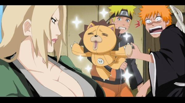Quand les mangas se mélange sa donne...ca!