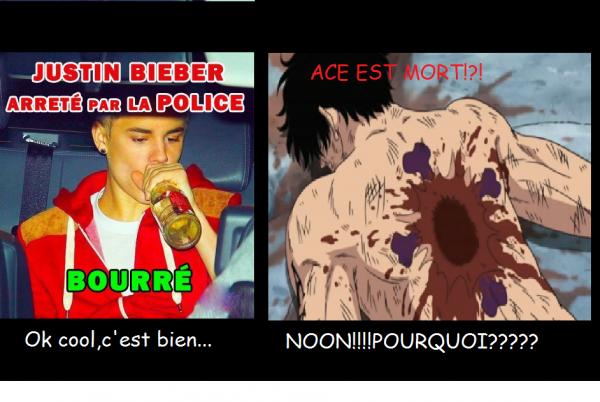 Justin Bieber vs Ace!