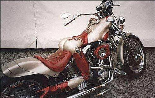 les mecs vont aimer cette moto lol