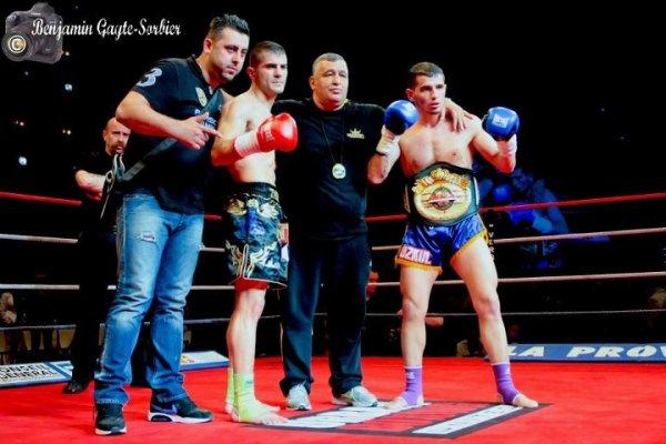 Yetkin Ozkul Championt du monde ISKA