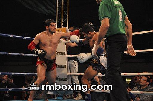 Yetkin Ozkul du rmboxing  prend la ceinture mondial WBC