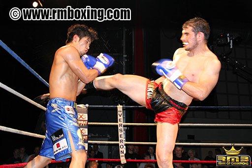 Yetkin Ozkul (RM Boxing) vs Koya Urabe (Japon)