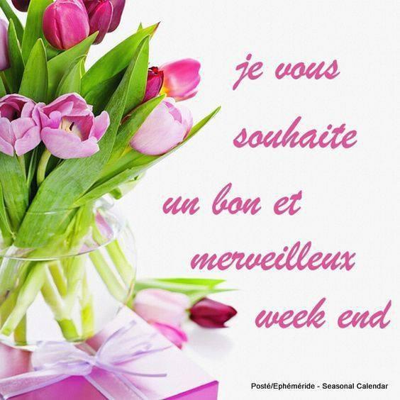 (l) (l) BON ET MERVEILLEUX WEEK-END (l) (l)