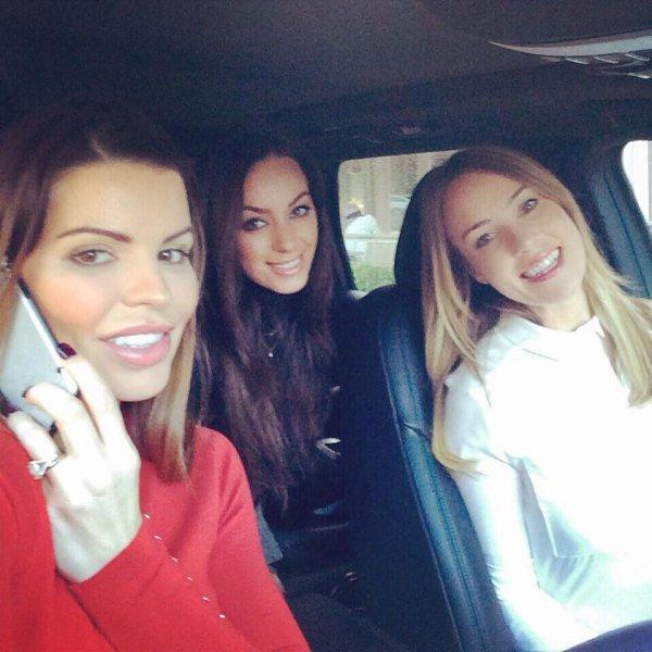 Avec les copines :)