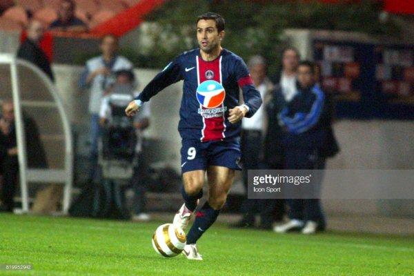Pedro Miguel Pauleta - PSG / Troyes - 1/16ème de finale de la coupe de la ligue 2005/06.