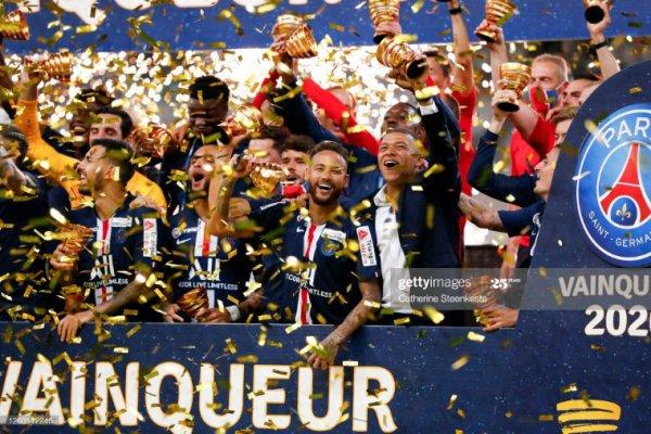 Trophée de la coupe de la ligue 2020