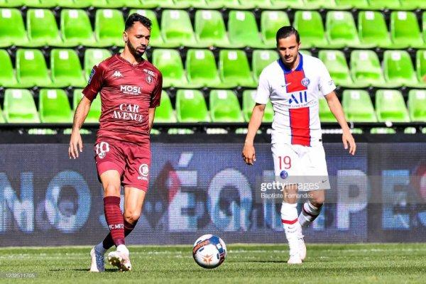 Pablo Sarabia - championnat de France de ligue 1.