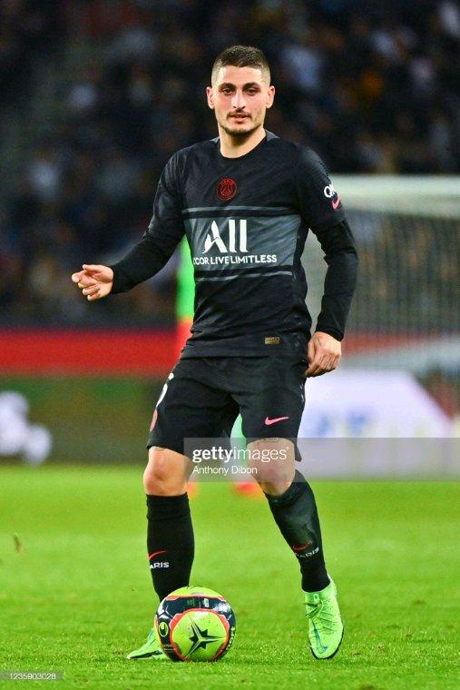 Marco Verratti - PSG/Angers - 09 ème journée du championnat de France de ligue 1.