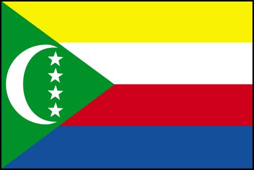 Les Comores Le Drapeau Aujourdhui Les Comores Et Sa