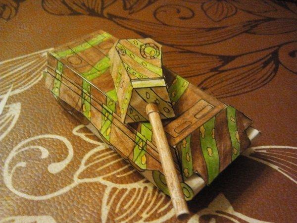 maquette modèle papier E-50 auf M