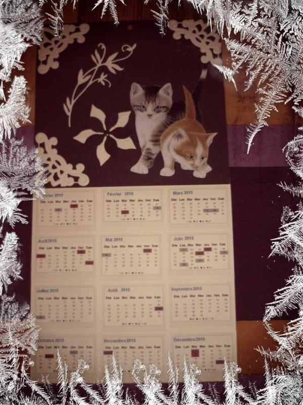 suite des calendriers  2015