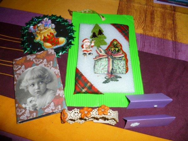 cadeaux recu de ma de mon amie Roselyne
