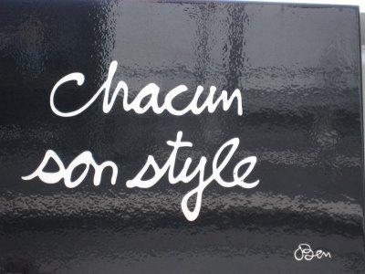 C'est quoi ton style?! :3