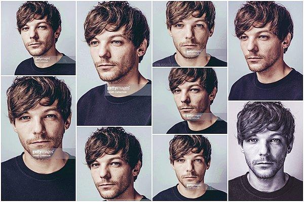 PHOTOSHOOT Portraits de Louis malheureusement taggués.
