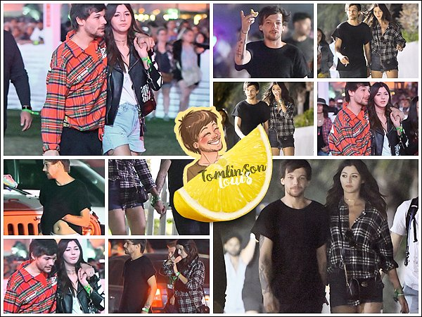 16-17/04    Louis et Eleanor au festival Coachella.