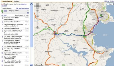 Tips and Tricks: Show your complete itinerary on Google Maps[/c/]