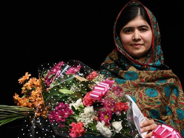 Congrats #MalalaYousafzai