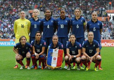 Equipe de france feminine de la demi finale de coupe du - Finale coupe du monde foot ...