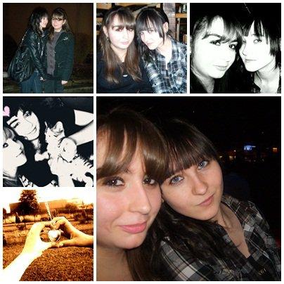 Sur les chemins de la vie on y est qu'un instant mais dans le coeur d'un ami on y est toujours présent. ♥