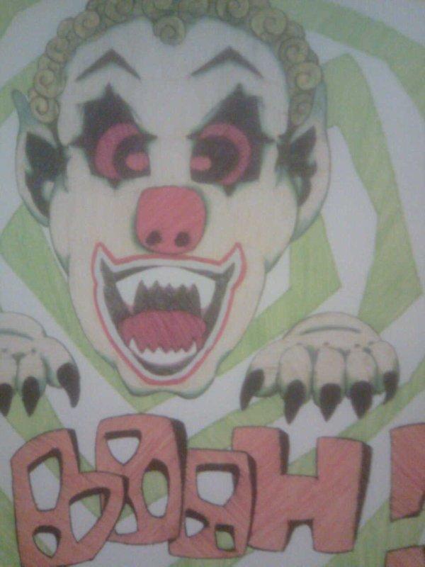 clown effrayant