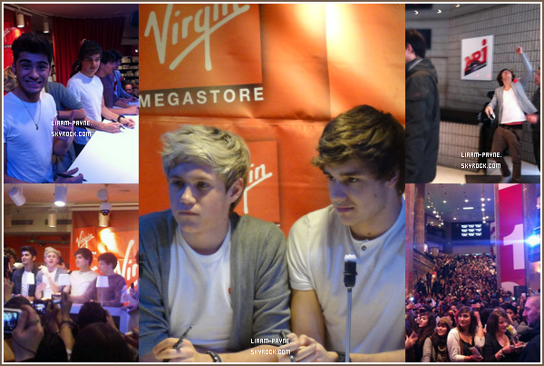 14  Février 2012 : Les garçons étaient chez Cauet , ils ont interprété ' What makes you Beautiful '  .
