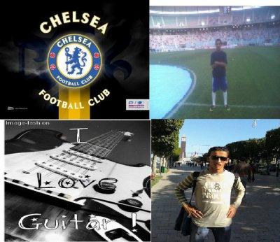 guitare + chelsea + football = ma vie <3