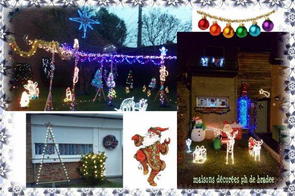 9090***qqs maisons décorées à perenchies