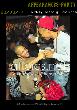 T.I. & Nelly Hosted @ Gold Room Sept 30th 2011 Filed Under: Appearances - Party - Gallery