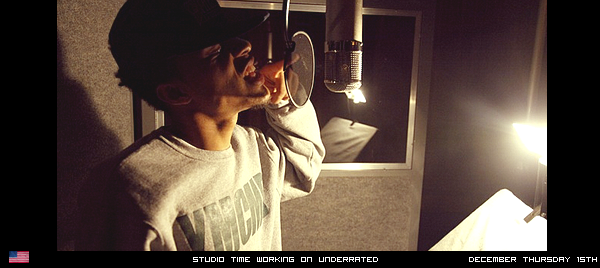 Bow Wow - Working On Underrated Dec 15th 2011 Posted By: Jhone   Filed Under: Candids - News - Studio - Underrated