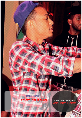 Bow Wow at Tryst Nightclub Jan 28th '12 Posted by: Aurelie Filed Under: Appearances - Party