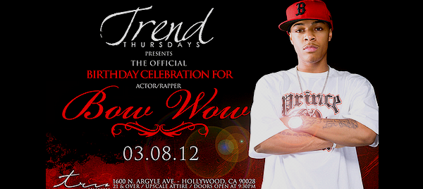 Bow Wow - 25th Birthday Bash at Club Tru March 07th '12 Posted by: Aurelie Filed Under: Appearances - Party